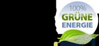 Wir hosten mit 100% grüner Energie aus Wind und Sonne